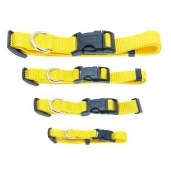 Barking Basics Dog Collar Yellow